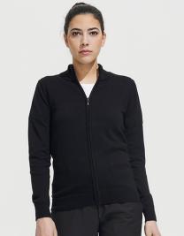 Women´s Zipped Knitted Cardigan Gordon
