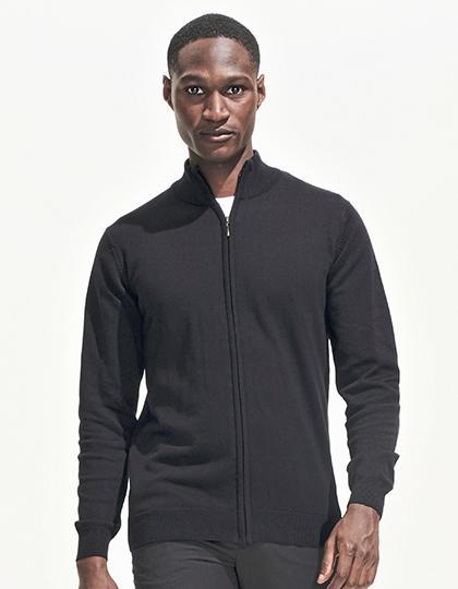 Men´s Zipped Knitted Cardigan Gordon